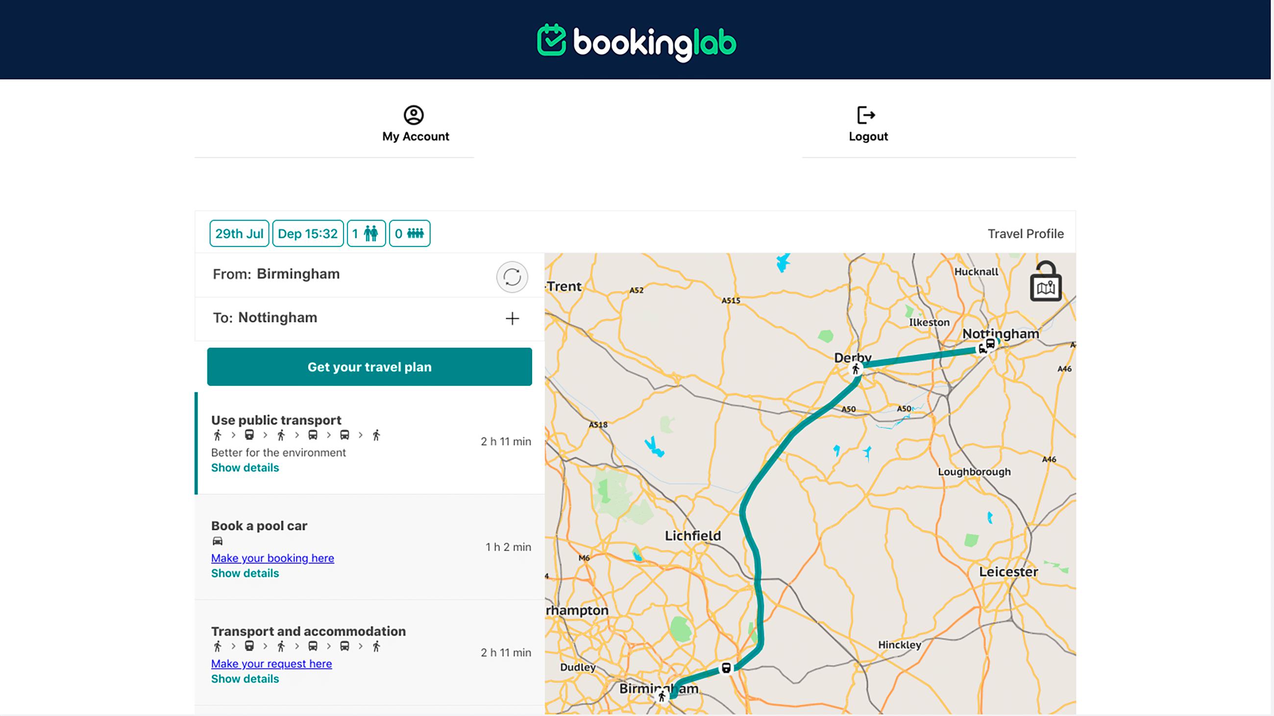 Pool Car Bookings